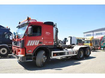 Abrollkipper VOLVO FM12 420 6X2 Lastväxlare