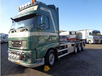 Abrollkipper Volvo FH16 540 + Euro 5 + 8X4 + 30 ton hook + 2 in stock!