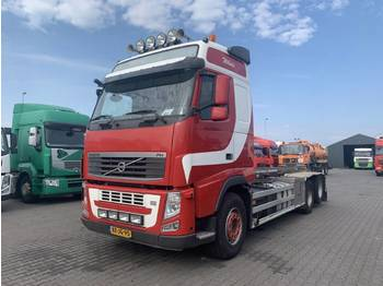 Volvo FH 460 Globetrotter 6X2 Manual Gearbox Euro 5 - Abrollkipper