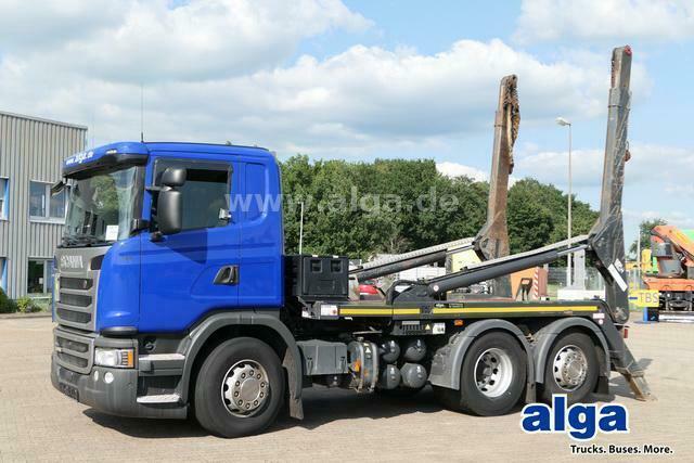 Absetzkipper Scania G 490 LB6x2 4HNA, Euro 6, VDL, Retarder, 490PS
