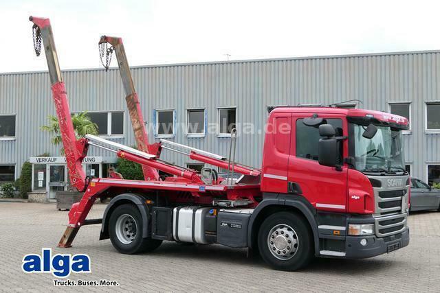 Absetzkipper Scania P 320 DB4x2HNZ, Euro 6, Meiller AK12MT, Klima