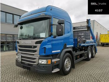 Absetzkipper Scania P 410 DB6X2*4MNA / Lenkachse / Retarder /Meiller