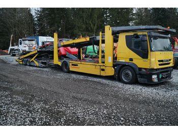 Autotransporter LKW Iveco Stralis 190S42 EEV mit Kässbohrer Variotrans