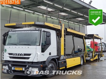 Autotransporter LKW Iveco Stralis AT180S42 4X2 Intarder Standklima Euro 5 Rolfo Aufbau