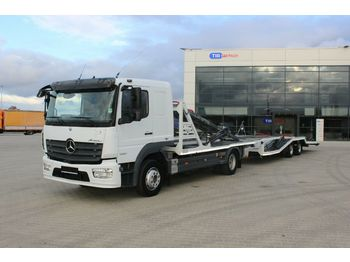 Autotransporter LKW Mercedes-Benz ATEGO 1230 L NEW ENGINE ONLY 90 000KM