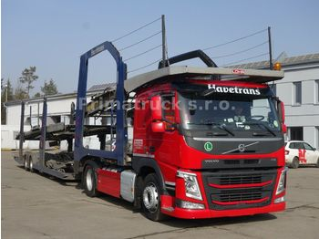 Volvo FM13 460 + Eurolohr 1.53 Evolution Bj. 2008,  - Autotransporter LKW
