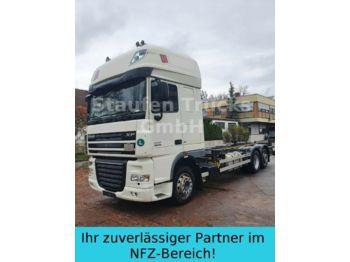 Containerwagen/ Wechselfahrgestell LKW DAF XF 105 410 SSC EEV 6X2 BDF Twistlock Fahrgestell