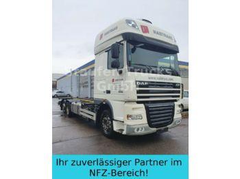 Containerwagen/ Wechselfahrgestell LKW DAF XF 105 460 BDF EEV alle Brücken  el. Hubrahmen