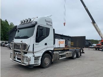 Containerwagen/ Wechselfahrgestell LKW IVECO Stralis AS260S560 6x2