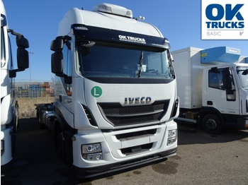 Containerwagen/ Wechselfahrgestell LKW Iveco Stralis AS260S46Y/FPGV