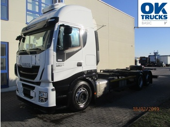 Containerwagen/ Wechselfahrgestell LKW Iveco Stralis AS260S48Y/FPCM
