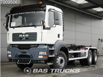 MAN TGA 33.440 M 6X4 Manual Big-Axle Steelsuspension Euro 4 - Containerwagen/ Wechselfahrgestell LKW