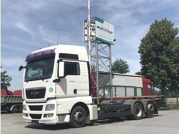 Containerwagen/ Wechselfahrgestell LKW  MAN - TGX 26.440 FLLNR