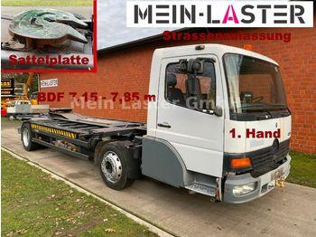 Containerwagen/ Wechselfahrgestell LKW Mercedes-Benz Wiesel-Mafi-Wechsel-Kamag-Rangier-Umsetzer-SZM