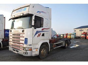 Containerwagen/ Wechselfahrgestell LKW SCANIA 124 470