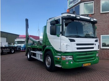 Scania P340 4X2 CONTAINERSYSTEM HYVALIFT TOP CONDITION!! - Containerwagen/ Wechselfahrgestell LKW