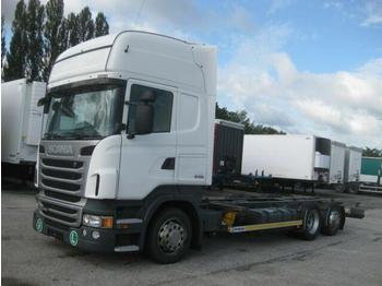 Containerwagen/ Wechselfahrgestell LKW  Scania - R 440 Jumbo BDF 7.82 EEV