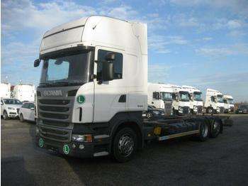 Containerwagen/ Wechselfahrgestell LKW  Scania - R 440 Jumbo BDF EEV
