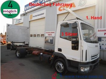 Iveco 75E15 EuroCargo LBW*1.Hand*3 Sitzer  Tempomat - Fahrgestell LKW