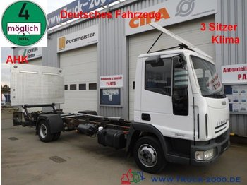 Fahrgestell LKW Iveco 75E15 EuroCargo LBW*AHK*Klima*1.Hand Tempomat