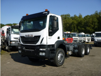 Fahrgestell LKW Iveco Trakker AD380T41 Euro 5 6x4 chassis / NEW/UNUSED