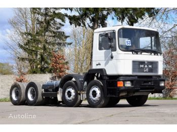 MAN 32.322 chassis 8x4 1993 - Fahrgestell LKW