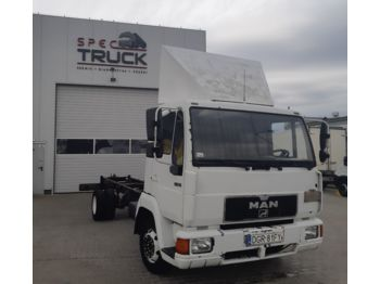 MAN L-2000, 8.153, full Stell, 7 meters - Fahrgestell LKW