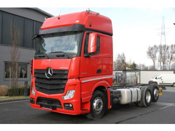 MERCEDES-BENZ 6x2 ACTROS 2542 E6 BDF CHASSIS - Fahrgestell LKW
