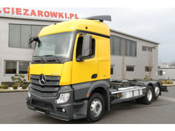MERCEDES-BENZ ACTROS 2540 6x2 E6 CHASSIS - Fahrgestell LKW