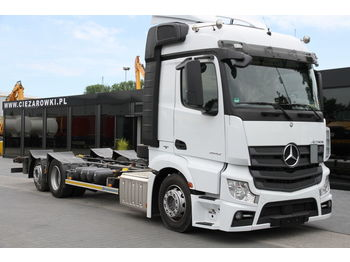 MERCEDES-BENZ ACTROS 2542 E6 BDF LOW DECK LOW CABIN - Fahrgestell LKW