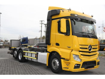 MERCEDES-BENZ ACTROS 2542 L E6 6X2 BDF CHASSIS RETARDER - Fahrgestell LKW