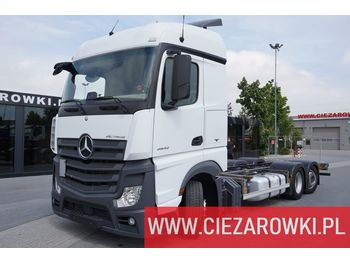 MERCEDES-BENZ Actros 2542 , E6 , 6x2 ,Low Deck , BDF, retarder , chassis 7,6 - Fahrgestell LKW