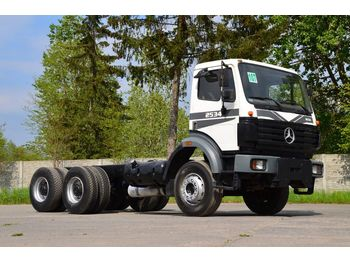 MERCEDES-BENZ SK 2534 6x4 full spring - Fahrgestell LKW