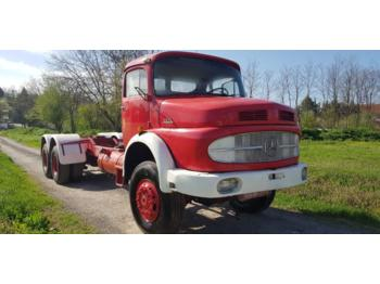 Mercedes Benz 2624 6x6 long nose- chassis - perfect - Fahrgestell LKW