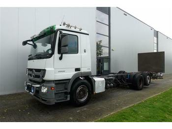 Mercedes-Benz ACTROS 2532 6X2 CHASSIS EURO 5  - Fahrgestell LKW