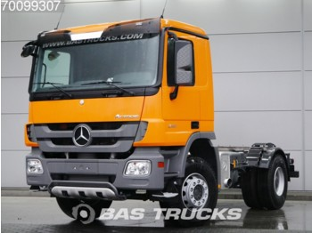 Mercedes-Benz Actros 2141 S 4X2 Big-Axle Steelsuspension 3-Pedals Euro 3 - Fahrgestell LKW