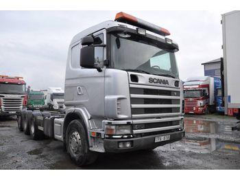 Fahrgestell LKW SCANIA 124 GB8X4 470