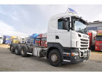 SCANIA R400LB8X4*4HSA - Fahrgestell LKW