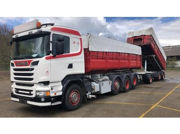 SCANIA R520LB8X2/4 Wire hoist - Fahrgestell LKW