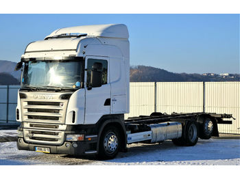Scania R420 Fahrgestell 7,50 m * EURO 5 * Topzustand!  - Fahrgestell LKW
