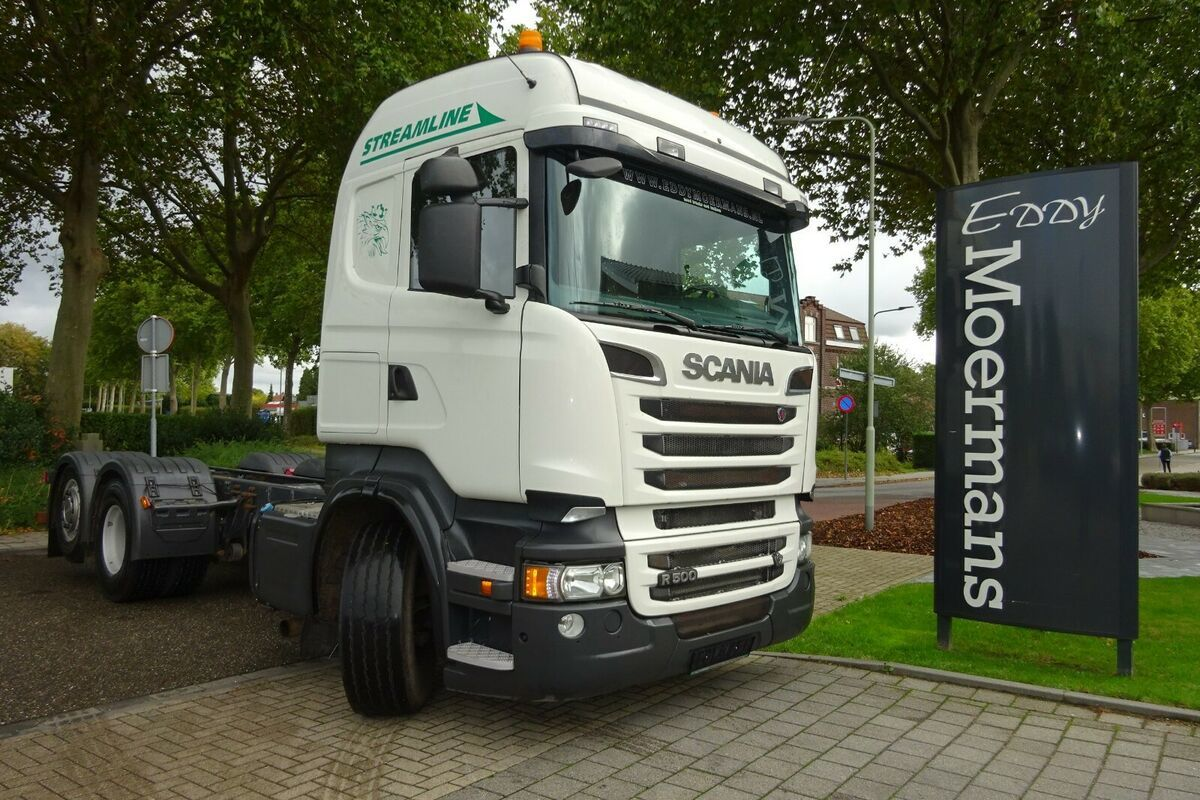 Fahrgestell LKW Scania R500 High-Streamline 6x2 Chassis