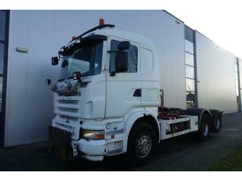 Fahrgestell LKW Scania R500 V8 6X2 CHASSIS RETARDER FULL STEEL EURO 3