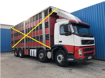 Volvo FM13 400 8x2, Steel suspension, Retarder, Manual - Fahrgestell LKW