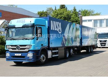 Getränkeaufbau LKW Mercedes-Benz Actros 2541 Retarder/Schwenkwand/Lenkachse/ZUG!