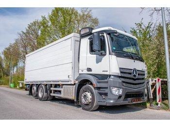 Getränkeaufbau LKW Mercedes-Benz Antos 2536L ENA 6x2 Getränkeklappe  2to Dautel
