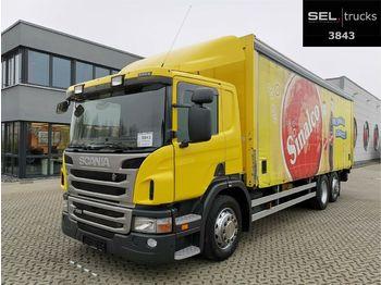 Getränkeaufbau LKW Scania P 320 DB6x2*4MLB / Ladebordwand / Lenkachse