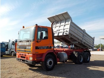 Kipper DAF 85 ATI 360 (BIG AXLE/ FULL STEEL/ MANUAL PUMP)