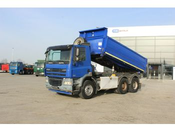 DAF FAT CF85.460, THREESIDED, 6X4, SERVICE BOOK  - Kipper