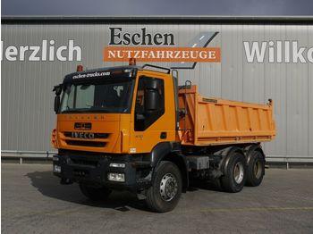 Kipper Iveco AD 260 T 41 6x4, Meiller 3-S-Kipper, Manuell, E5