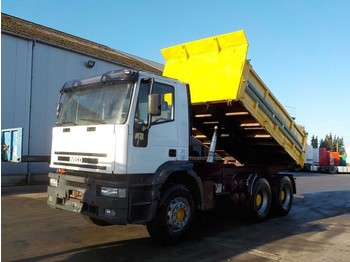 Kipper Iveco Eurotrakker 380 E 42 (BIG AXLE / STEEL SUSP / MANUAL PUMP)